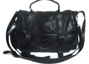 Proenza Schouler Black PS1 Large Leather handbag