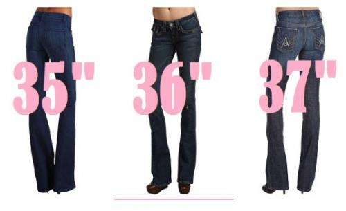 Top shop of tall jeans for tall women, long jeans. in Colorado ...