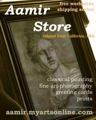 Online store: classical painting, fine art photography, model photos, design images