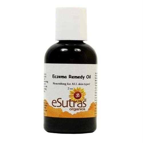 Esutra eczema remedy oil for skin care