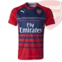 Arsenal and Real madrid Training Jerseys