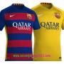 New Barcelona Home/Away Kit 2015-2016