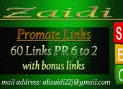 I will provide high pr do follow good working and stay links