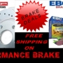Performance Brake Parts - Free Shipping