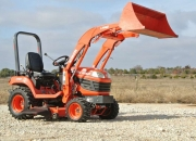 2012 kubota bx2660 w/loader and belly mower