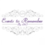 Events to Remember- Wedding & Event Planning Services