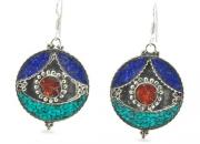Secret Shrine Tibetan Earrings