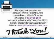 Lexmark printer tech support number