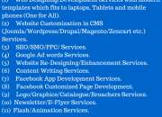 End to End Website Development Services.