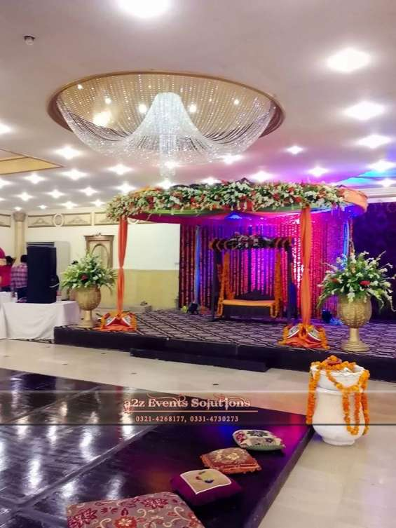 Each event is a custom project, irrespective of size or budget.