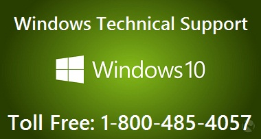 Windows technical support number 1-800-485-4057