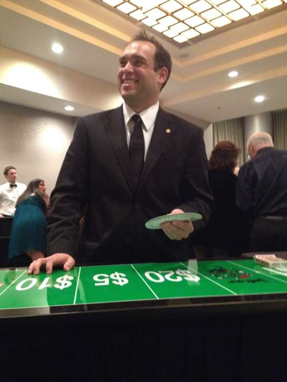 Casino dealers for hire