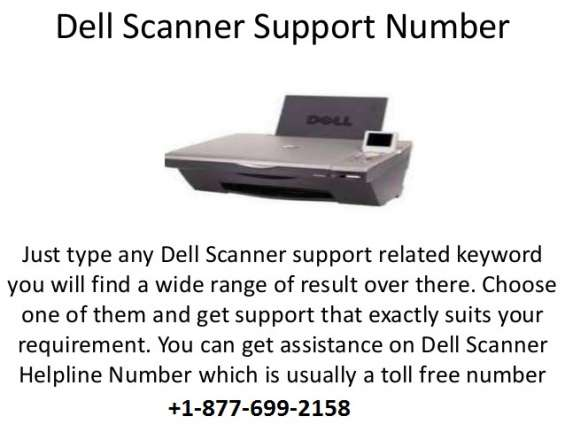 Dell scanner technical support phone number 1-877-699-2158