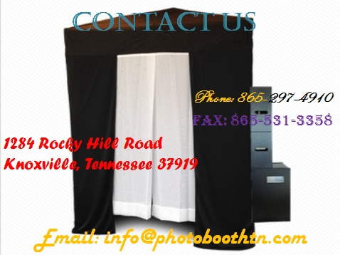 Knoxville photo booth rental