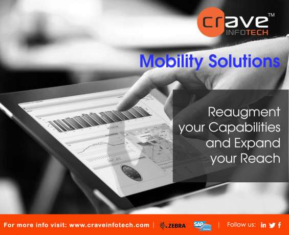 Mobility: crave infotech provides end-to-end strategy to address the challenges and opportunities of a business going mobile and to realize its mobile potential.