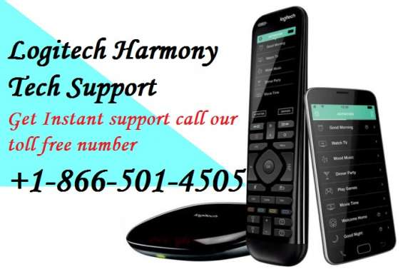 Logitech harmony support number +1-866-501-4505