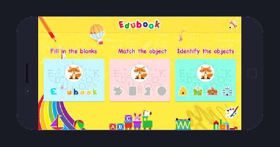 Edubook, educational apps, kids apps, edubook for kids app