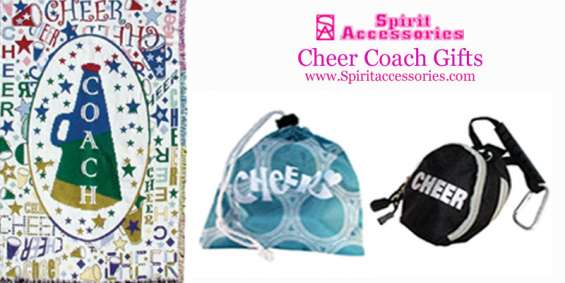 Cheer coach gifts | spirit accessories