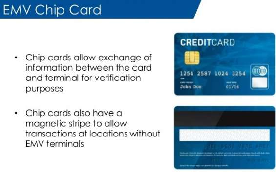 We provide credit card machine or cash register with emv technology
