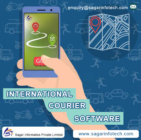 International courier software india