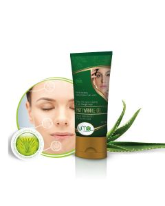 Now say goodbye to ageing, with this herbal anti wrinkle skin gel you look more younger as it makes the effects of ageing and gives skin soft, clear and rejuvenated texture.