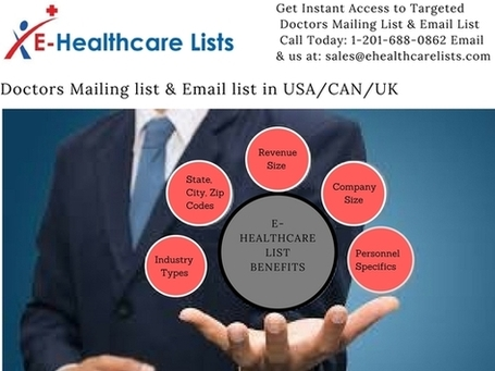 Doctors mailing list & email list in germany/france/spain