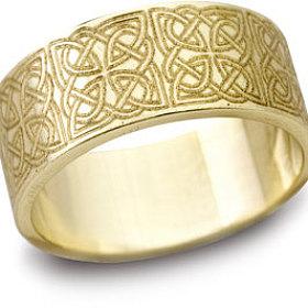 Engraved designs rings