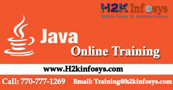 Java/j2ee online training by h2k infosys llc, usa