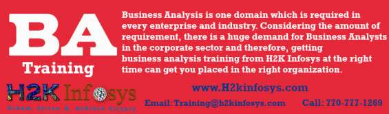 Ba online training in usa-attend free demo