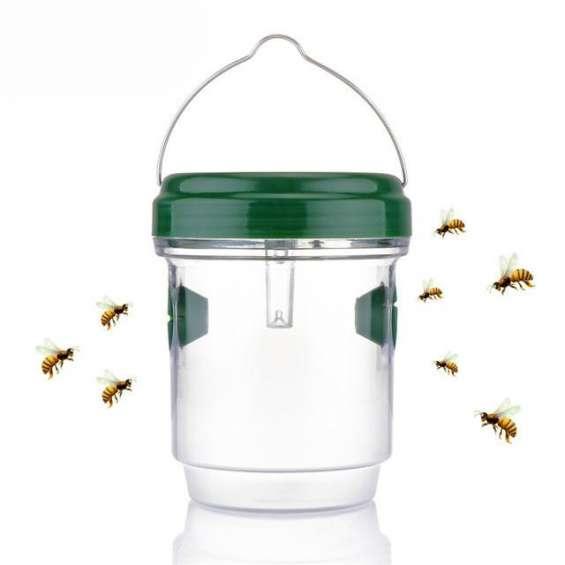 Solar powered wasp trap - bees honey keeper