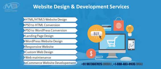 Avail the best web designing services by dialling +1-888-483-0935