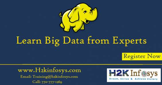 Big data online training and placement assistance