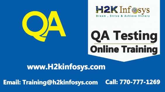 Quality assurance(qa) online training course