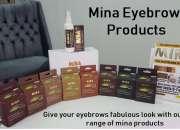 Mina Ibrow henna is 100% pure