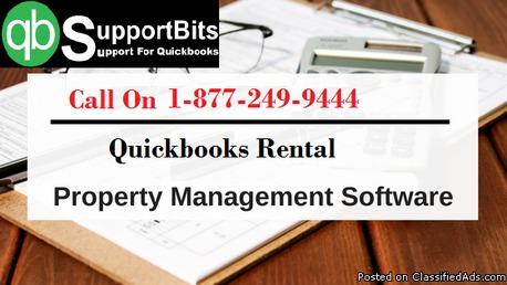Quickbooks rental rroperty management software | quick support number