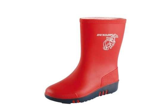 Dunlop childrens unisex mini waterproof wellington wellie boot k131514