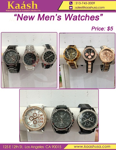 New watches for men