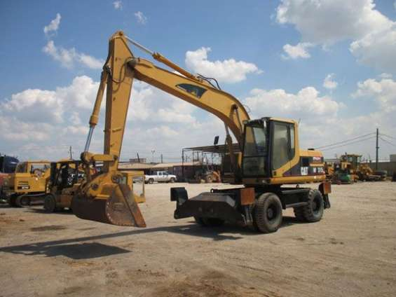 Wheel excavators for sale