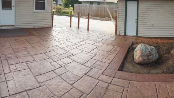 Stamped concrete contractor in san francisco - ag associates, inc