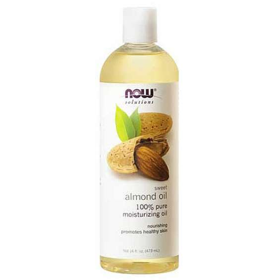 Almond oil – perfect for nourishing the skin