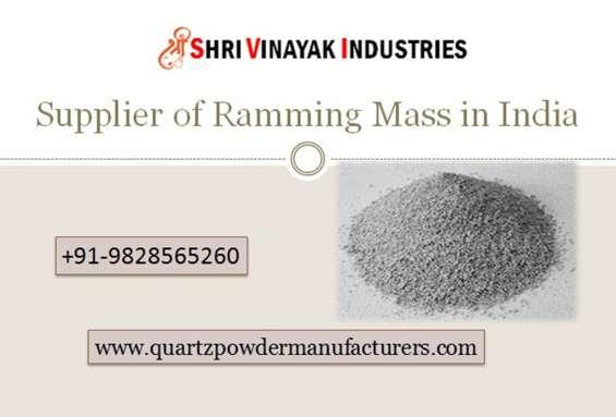 Leading supplier of ramming mass in india uae shri vinayak industries