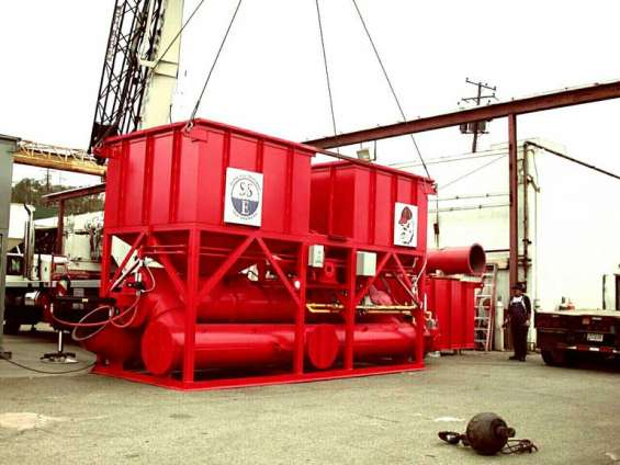 Pictures of Recuperative thermal oxidizers 3