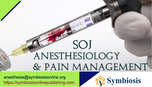 Journal of anesthesiology and pain management