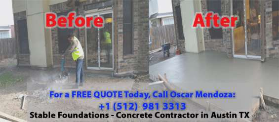 Stable foundations - top concrete contractor in austin tx