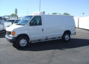 Used refridgerated cargo delivery van