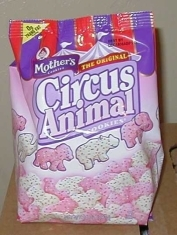 Circus cookies abandoned!