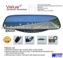 Bluetooth handsfree rearview mirror car kit