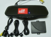 TFT Display Car Video Parking Sensor System,Auto sensor,Backup sensor,Reverse sensor
