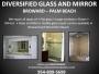 GLASS REPAIR, SHOWER ENCLOSURES, BATHROOM VANITY PALM BEACH, FL (BROWARD, WEST PALM BEACH)