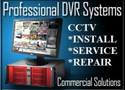 Security camera system installation, cctv dvr systems